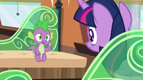 Spike --I know she needed to be put on the right path-- S6E2