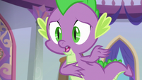 Spike -to do it, she's playing different- S8E4