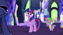 "Twilight ""you're sick of being princesses?"" S9E13"