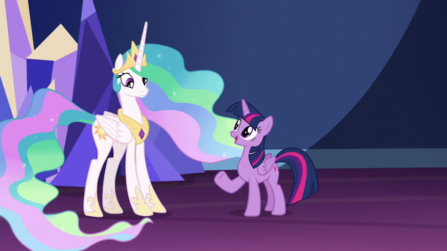 """File:Twilight Sparkle """"since defeating Chrysalis"""" S7E1.png"""