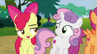"Apple Bloom ""Rumble's already picked out a box"" S7E21"
