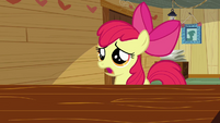 Apple Bloom 'We may have put Ponyville in jeopardy' S2E17