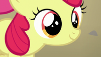 Apple Bloom smiling at Terramar S8E6