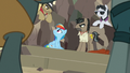 Caballeron and henchponies surround Rainbow Dash S7E18.png
