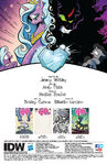Comic issue 35 credits page
