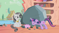 Confused grey Rarity angry Twilight S2E2.png