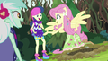 Fluttershy about to help Sweetie Drops escape EG4.png