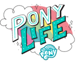 MLP Pony Life logo promotional version
