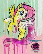 "MLP The Movie Fluttershy ""6weeks"" poster"