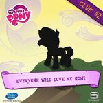 MLP mobile game Sunset Shimmer clue 2