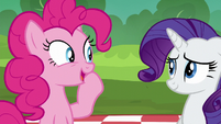Pinkie --we always sing the Pie Sisters' Surprise Swap Day Song-- S6E3