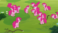 Pinkie Pie informing her clones S3E03