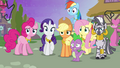 Ponies looking concerned S4E02.png