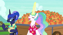 "Princess Celestia ""gonna be a peach"" S9E13"