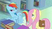 "Rainbow Dash ""Daring Do's archnemesis"" S9E21"