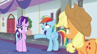 "Rainbow Dash ""we're terrible teachers!"" S8E1"