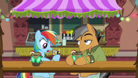 "Rainbow Dash ""we've only done stuff from"" S6E13"