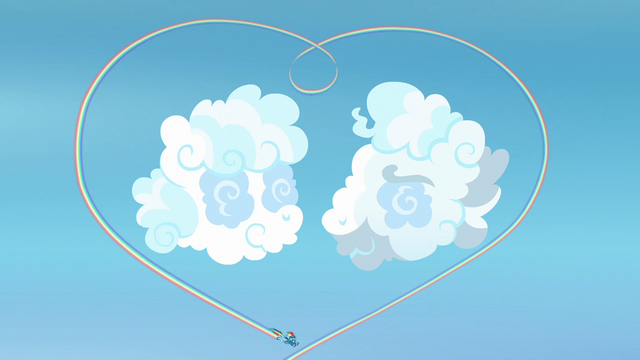 File:Rainbow makes heart-shaped rainbow around cloud sculptures S7E7.png