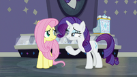 "Rarity ""I wanted a friend to do it"" S8E4"