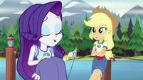 "Rarity bragging ""I am now"" EG4"