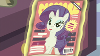 Rarity on the front cover of Cosmare S5E14