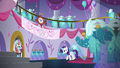 Rarity shuffles back to the sewing room S5E14.png