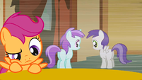 Scootaloo is thinking S1E12