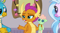 "Smolder ""dragons don't do pony holidays"" S8E16"