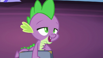 "Spike ""too many deep-fried gems"" S7E22"