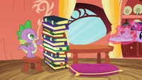Spike counting the 10th book S3E9