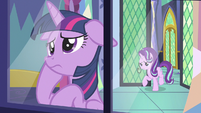Starlight Glimmer enters Twilight's bedroom S7E14