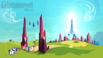 The Crystal Empire overlook EW promotional S3E01