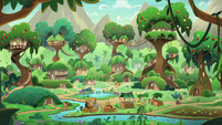 The Kirin's village is restored S8E23