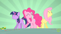 Twilight, Pinkie and Fluttershy dancing S1E25.png