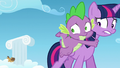 Twilight and Spike sees the race going on S5E26.png