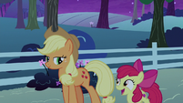 "Apple Bloom ""can't wait to check in the mornin'"" S9E10"