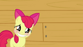 Apple Bloom putting on a smile S3E04.png