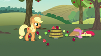 Applejack -you're doublin' our workload here!- S7E9