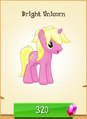 Bright Unicorn MLP Gameloft.png