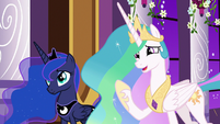 "Celestia ""difficulties using the amulet"" S9E17"
