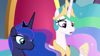 "Celestia ""if he has found some way"" S8E25"