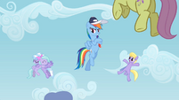 Cloudchaser and Flitter hug S02E22