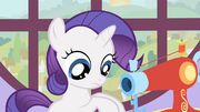Filly Rarity making costumes S1E23