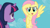 Fluttershy salute got it S02E02
