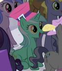 Lyra in pony mob S02E09