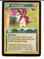 MLP CCG demo card Cherry Jubilee