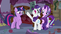 "Rarity ""I've been getting cancellations for days!"" S7E14"