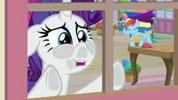 "Rarity ""he is a good sounding board"" S9E19"