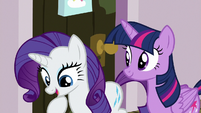 "Rarity ""then get my hooves done"" S7E2"