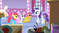 Rarity 'Are you girls still obsessing over your cutie marks-' S1E23